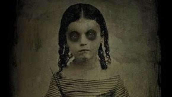 Victorian ghost child